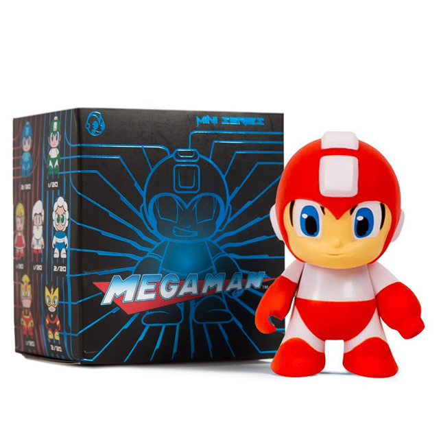 Kidrobot Metallic Mega Man Red