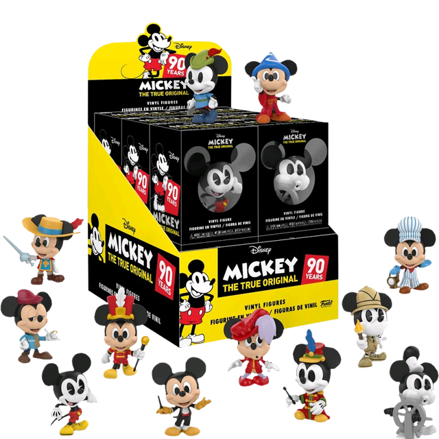 Figurky Mystery Minis Mickey Mouse - Blindbox