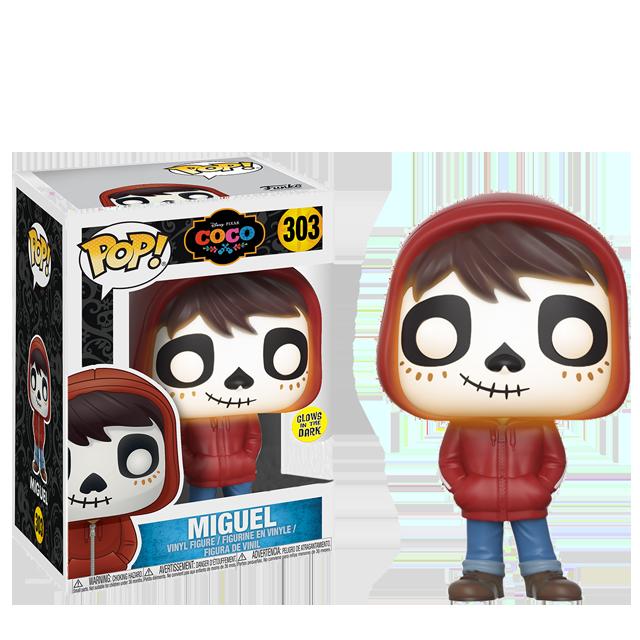 Figurka Funko POP! Miguel svítící ve tmě - Coco