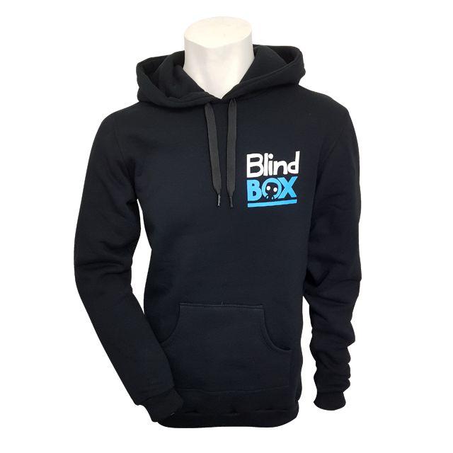 Mikina s kapucí Blindbox - malé logo