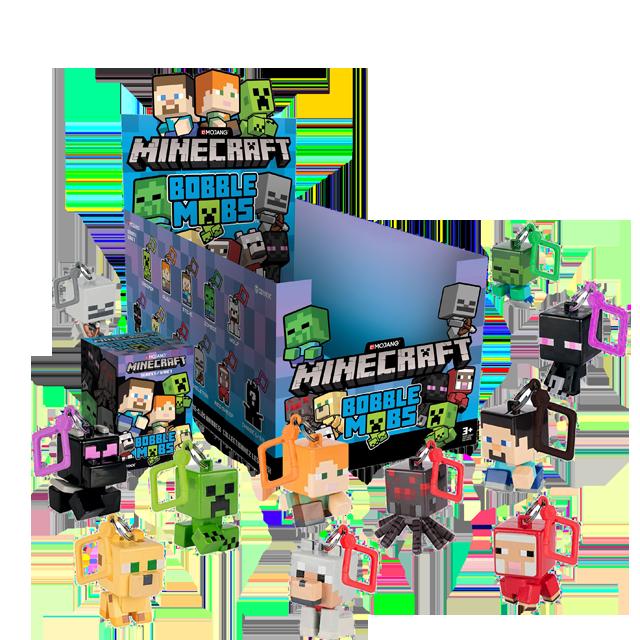 Jinx Minecraft přívesky na klíče - Blindbox