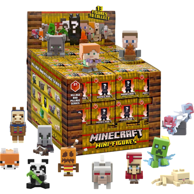 Mattel Minecraft Village & Pillage - Blindbox