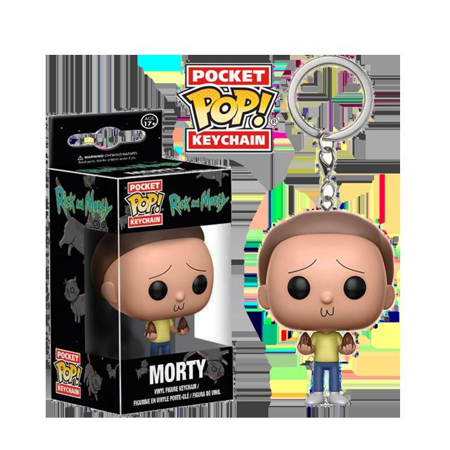 Pocket POP! Morty - přívěsek na klíče