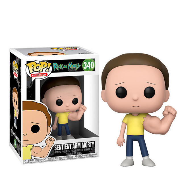 Figurka Funko POP! Morty s obří rukou