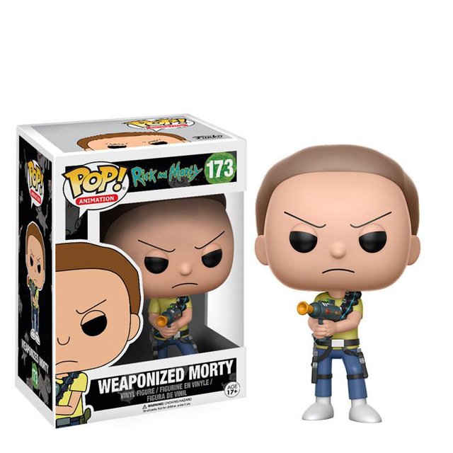 Figurka Funko POP! Morty se zbraní