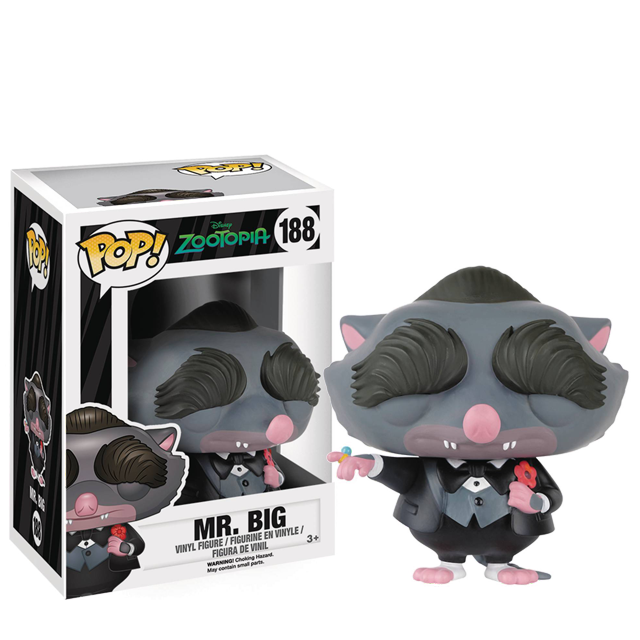 Figurka Funko POP! Mr. Big - Zootropolis