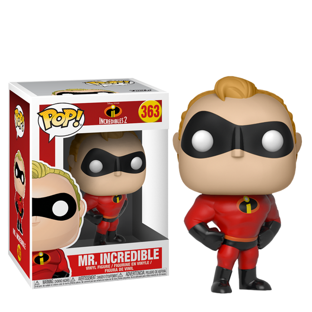 Figurka Funko POP! Mr. Incredible - Úžasňákovi 2