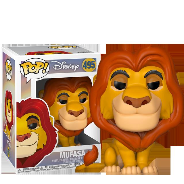Figurka Funko POP! Mufasa - Lví král