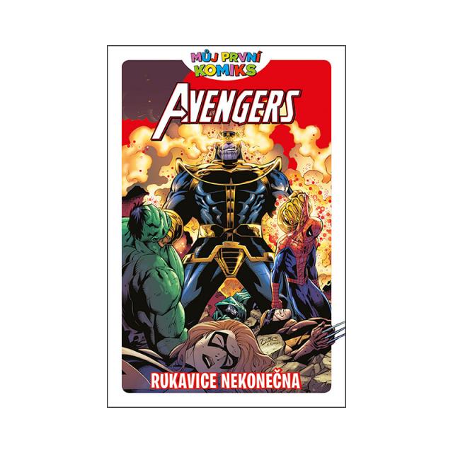 Crew Můj první komiks: Avengers a rukavice nekonečna