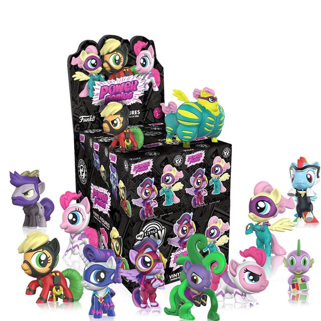 Figurky Mystery Minis My Little Pony Power Ponies - Blindbox