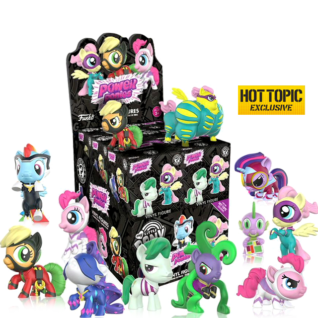 Figurky Mystery Minis My Little Pony Power Ponies - Blindbox HOTTOPIC