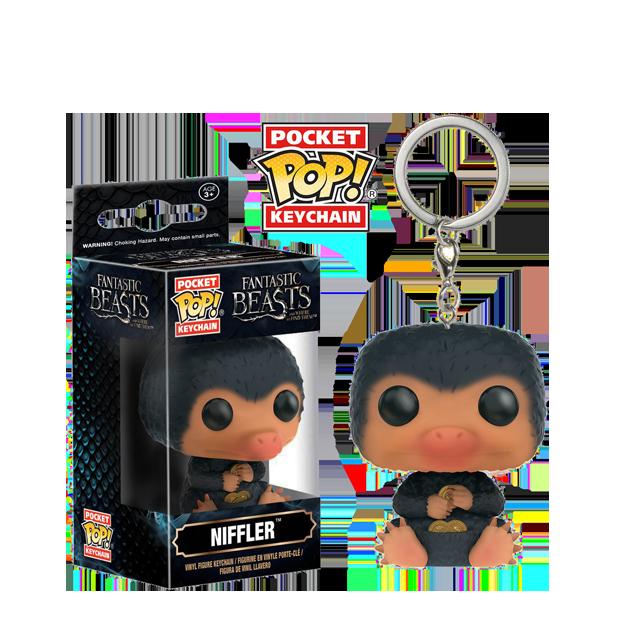 Pocket POP! Niffler - přívěsek na klíče