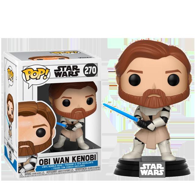 Figurka Funko POP! Obi Wan Kenobi Clone Wars