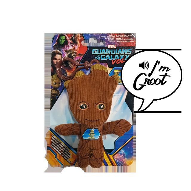 Pocket POP! Plyšový mluvící Groot - přívěsek