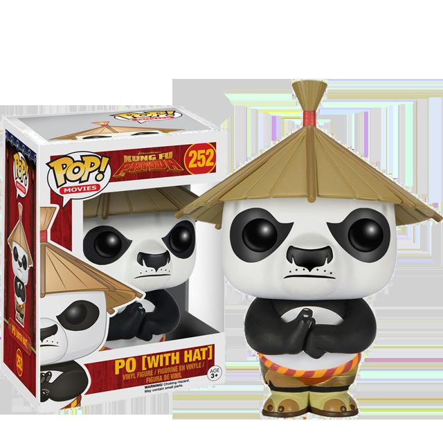 Figurka Funko POP! Po s kloboukem - Kung-Fu Panda
