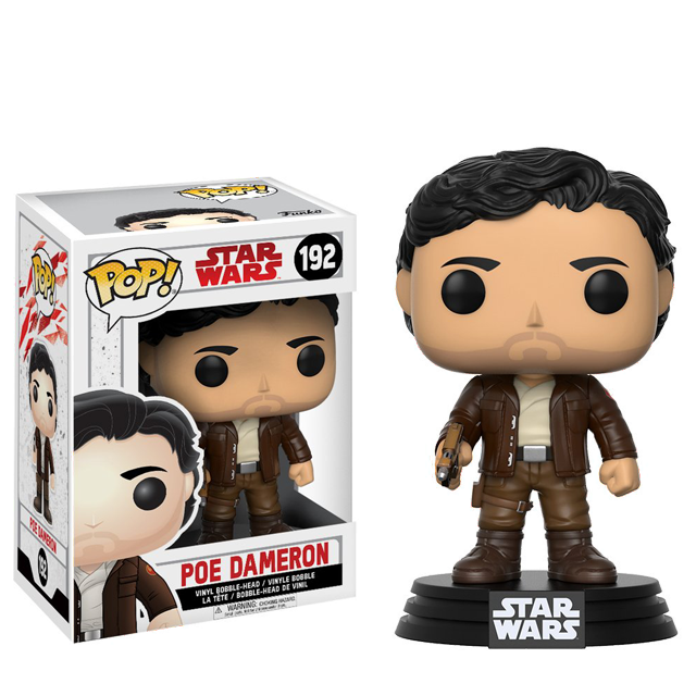 Figurka Funko POP! Poe Dameron - The Last Jedi