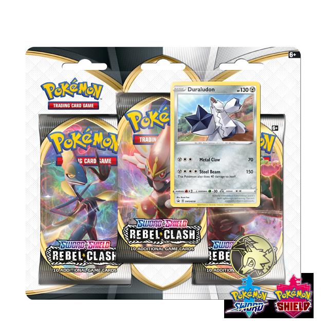 Pokémon Pokémon: Rebel Clash 3x Booster Pack - Duraludon