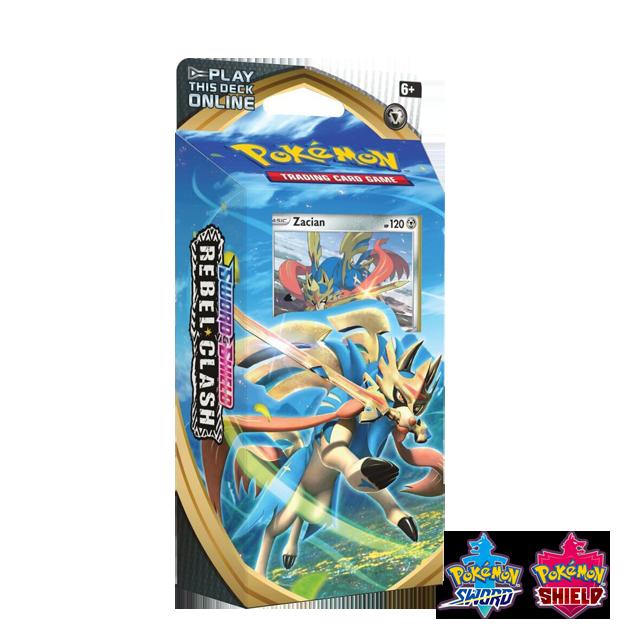 Pokémon Pokémon: Rebel Clash Theme Deck - Zacian