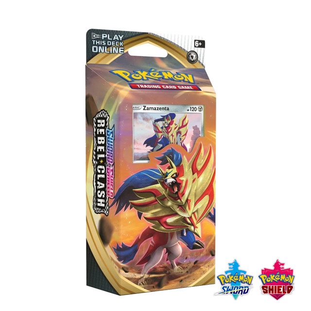 Pokémon Pokémon: Rebel Clash Theme Deck - Zamazenta