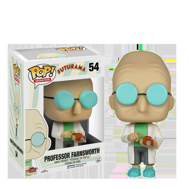 Figurka Funko POP! Professor Farnsworth
