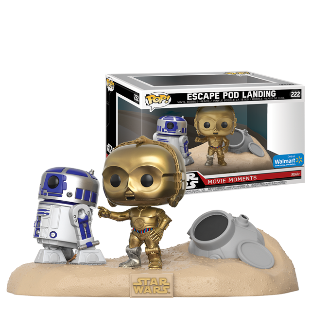 Figurka Funko POP! R2-D2 a C-3PO - Moments