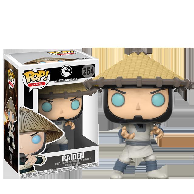 Figurka Funko POP! Raiden - Mortal Kombat