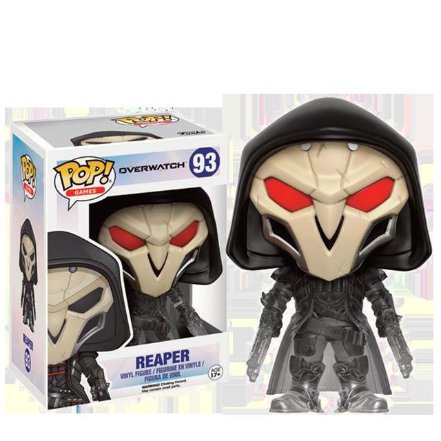 Figurka Funko POP! Reaper Smokey - Overwatch