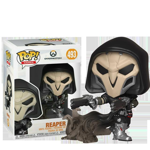Figurka Funko POP Reaper Wraith - Overwatch