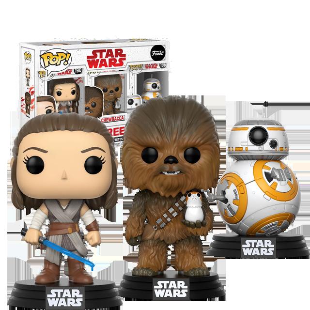 Figurka Funko POP! Rebels 3-pack - The Last Jedi