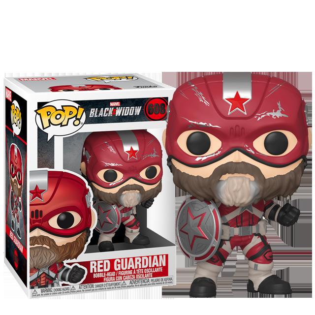 Figurka Funko POP Red Guardian - Black Widow
