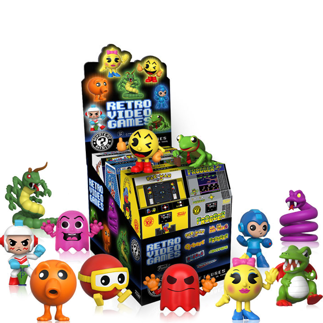 Figurky Mystery Minis Retro Games - Blindbox