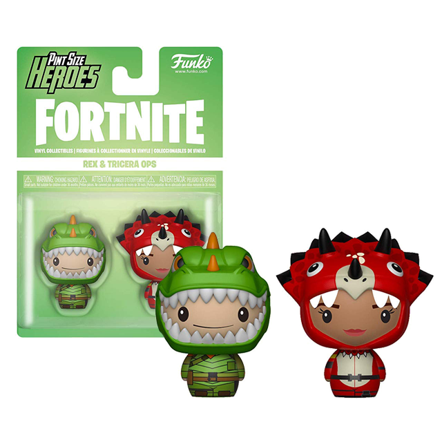 Pint Size Heroes Rex a Tricera - Fortnite Pint size
