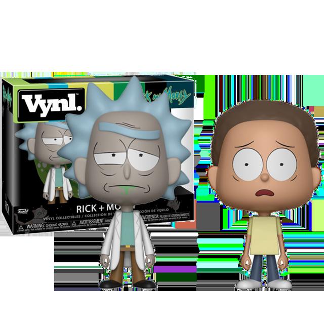 Figurka Funko POP! Rick a Morty 2-pack Vynl