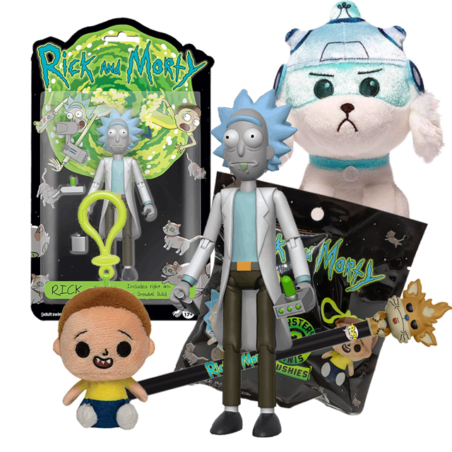 Funko Rick and Morty #3 Pack
