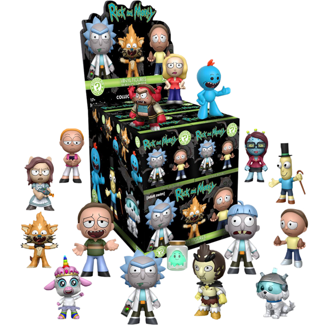 Mystery Minis Rick a Morty - Blindbox