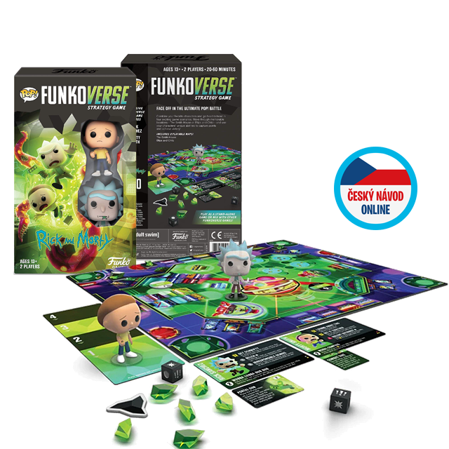 Funko Rick a Morty Funkoverse - desková hra
