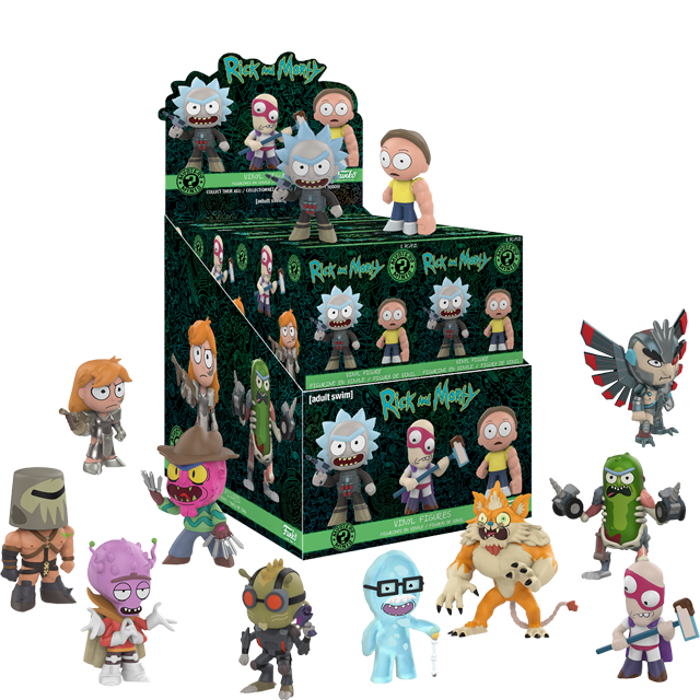 Figurky Mystery Minis Rick a Morty série 2 - Blindbox