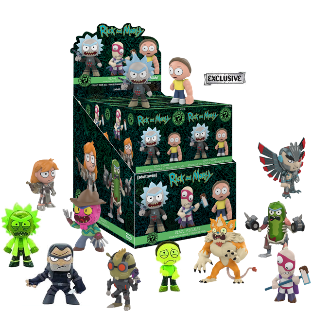 Mystery Minis Rick a Morty série 2 Exclusive - Blindbox