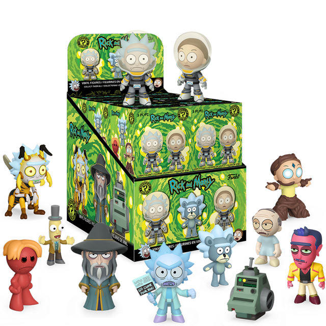 Mystery Minis Rick a Morty série 3 - Blindbox