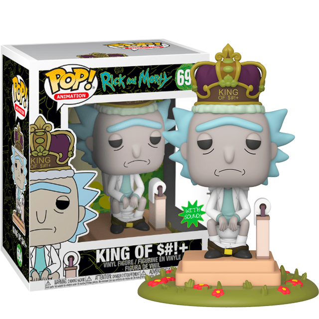 Funko POP Rick King of Shit