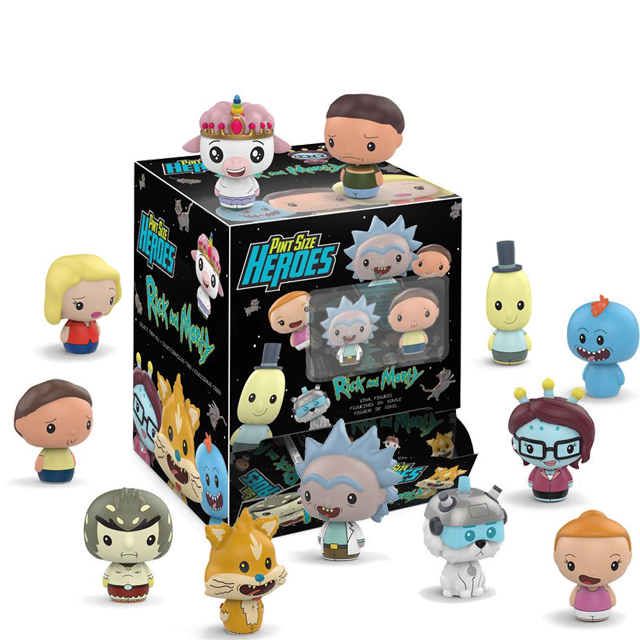 Pint Size Heroes Rick & Morty - PINT SIZE Blindbox