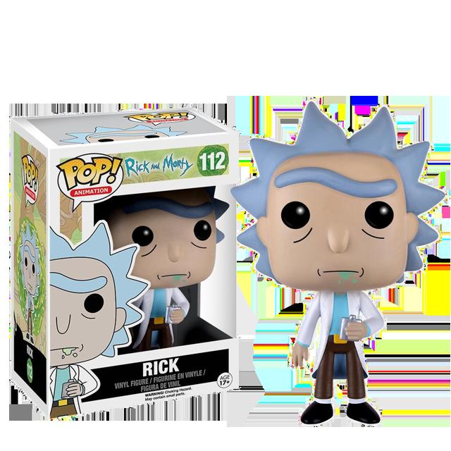 Figurka Funko POP! Rick
