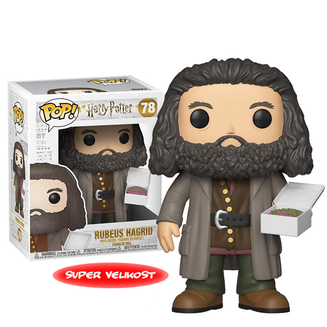 Figurka Funko POP Rubeus Hagrid s dortem