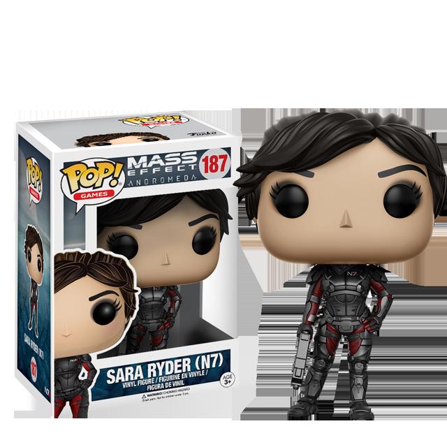 Figurka Funko POP! Sara Ryder N7 - Mass Effect