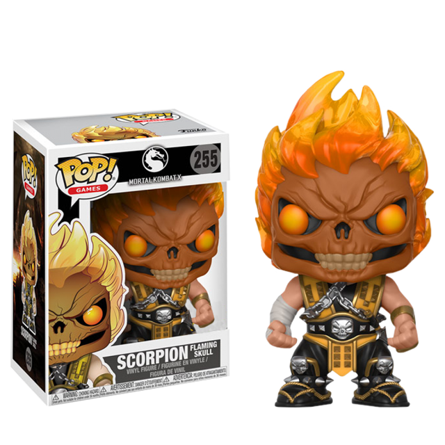 Figurka Funko POP! Scorpion Skull Head - Mortal Kombat