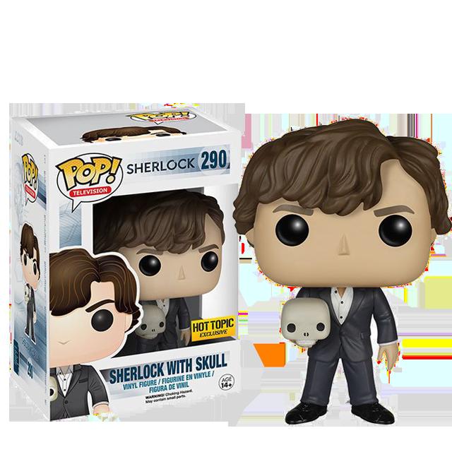 Figurka Funko POP! Sherlock s lebkou