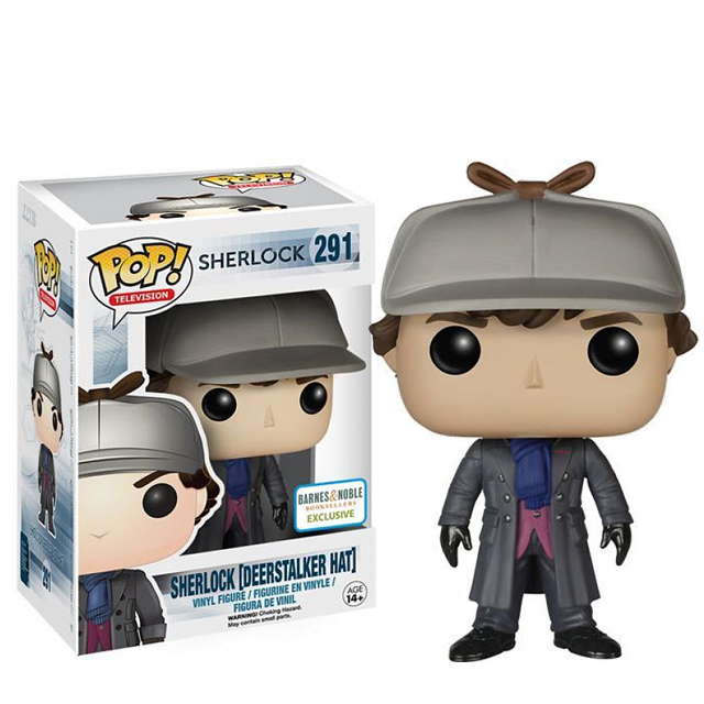 Figurka Funko POP! Sherlock s loveckou čepicí