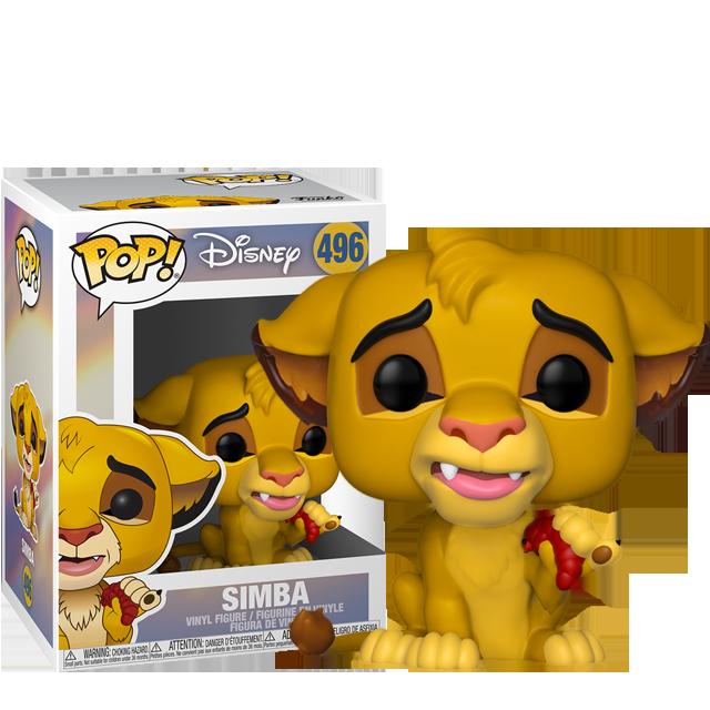 Figurka Funko POP Simba - Lví král