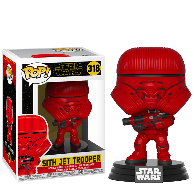 Funko POP Sith Jet Trooper - The Rise of Skywalker