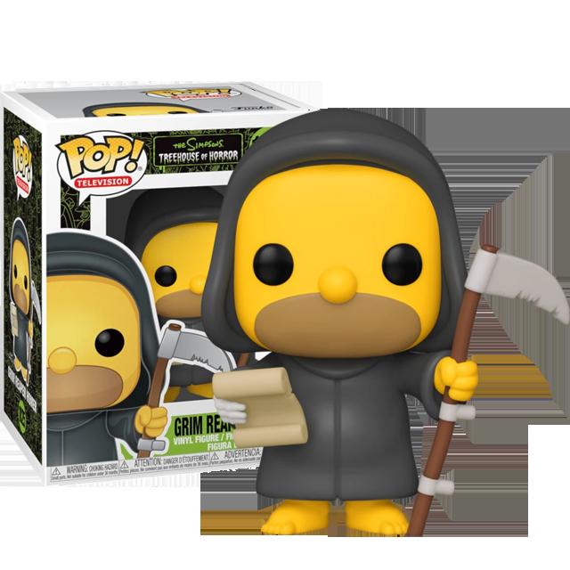 Funko POP Grim Reaper Homer